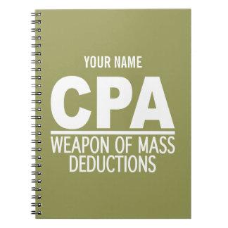 Cuaderno de encargo del color de CPA