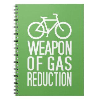 Cuaderno de encargo del color de la bicicleta