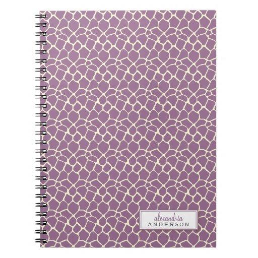 Cuaderno de encargo del modelo animal de la jirafa