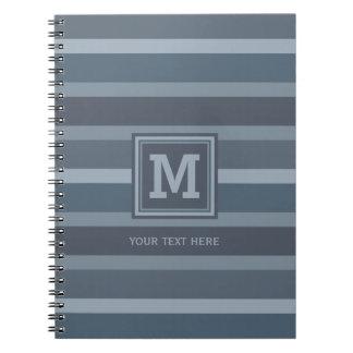 Cuaderno de encargo del monograma del modelo de