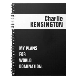Cuaderno de encargo del nombre, del título y del