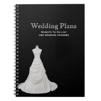 Cuaderno de encargo del planificador del boda