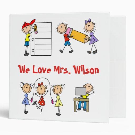 Cuaderno de encargo del profesor