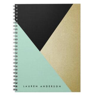 Cuaderno de encargo espiral personalizado del