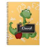Cuaderno de encargo lindo de la escuela del dragón