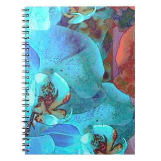 Cuaderno de encargo magnífico de las floraciones