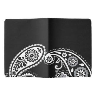 Cuaderno de encargo negro de Paisley - extra Cuaderno Extra Grande Moleskine