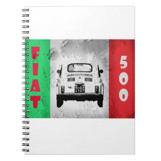 Cuaderno de Fiat 500 Cinquecento