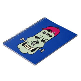 Cuaderno de Frankenskull