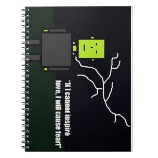 Cuaderno de Frankenstein