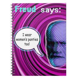Cuaderno de Freud