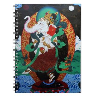 Cuaderno de Ganesh del baile