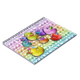 Cuaderno de goma de Duckies