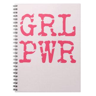 Cuaderno de GRL PWR (girlpower)