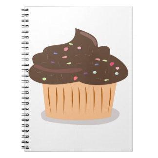 Cuaderno de Guik de la torta de la taza