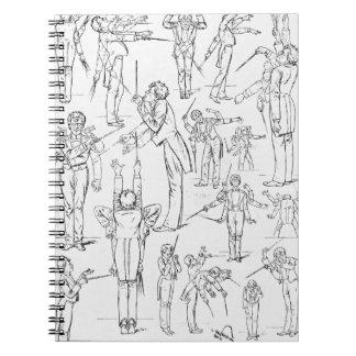 Cuaderno de Gustav Mahler
