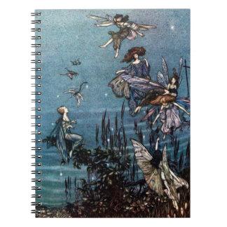 Cuaderno de hadas de la danza