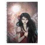 Cuaderno de hadas de la fantasía de la oscuridad d