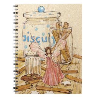 """Cuaderno de hadas de la receta del """"canela"""""""