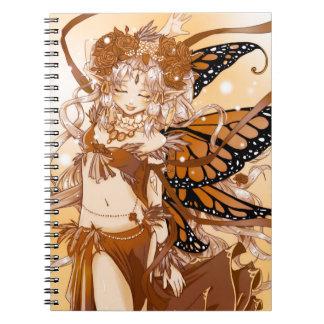 Cuaderno de hadas del amor