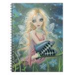 Cuaderno de hadas del arte de la fantasía de la lu
