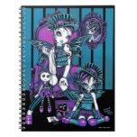 """Cuaderno de hadas mágico """"encantado"""" de las costur"""