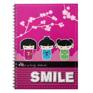 Cuaderno de Kokeshi