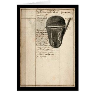 Cuaderno de la alquimia por la placa 11 de Juan Tarjeta De Felicitación