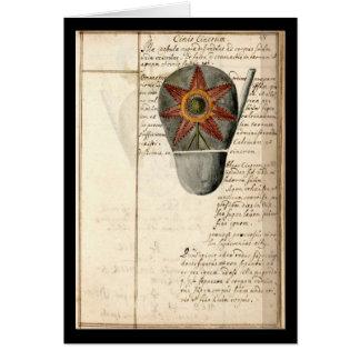 Cuaderno de la alquimia por la placa 16 de Juan Gr Felicitacion