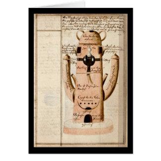 Cuaderno de la alquimia por la placa 17 de Juan Gr Felicitación