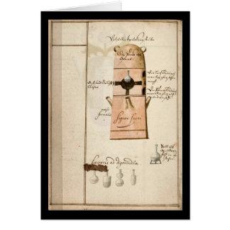 Cuaderno de la alquimia por la placa 19 de Juan Gr Felicitacion