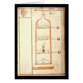 Cuaderno de la alquimia por la placa 20 de Juan Gr Felicitaciones