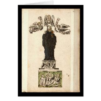Cuaderno de la alquimia por la placa 2 de Juan Tarjeta De Felicitación