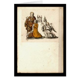 Cuaderno de la alquimia por la placa 3 de Juan Tarjeta De Felicitación