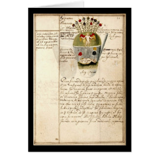 Cuaderno de la alquimia por la placa 8 de Juan Tarjeta De Felicitación