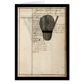 Cuaderno de la alquimia por la placa 9 de Juan Gra Felicitación
