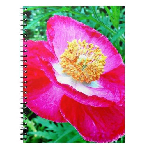 Cuaderno de la amapola