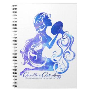 Cuaderno de la astrología del acuario