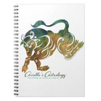 Cuaderno de la astrología del tauro