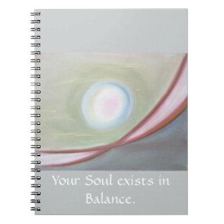 Cuaderno de la balanza del alma
