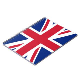 Cuaderno de la bandera de Union Jack