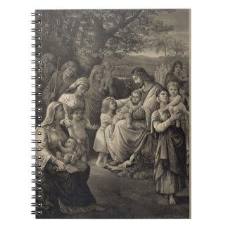 Cuaderno de la bendición de Jesús