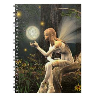 cuaderno de la bola de la luz de hadas