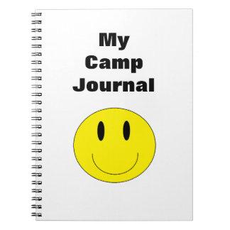 Cuaderno de la cara feliz