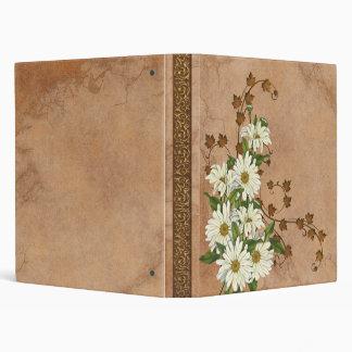 Cuaderno de la carpeta de las margaritas del veran