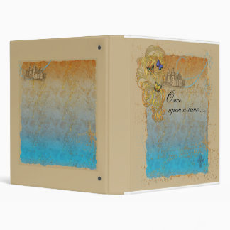 Cuaderno de la carpeta del castillo del guión del