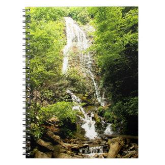 Cuaderno de la cascada