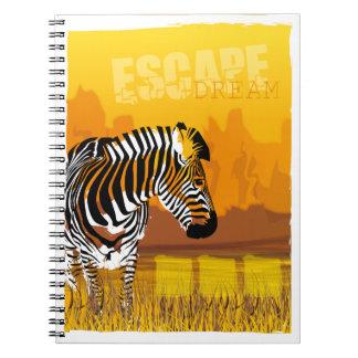 Cuaderno de la cebra