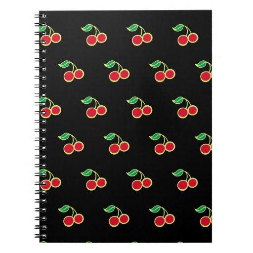 Cuaderno de la cereza negra