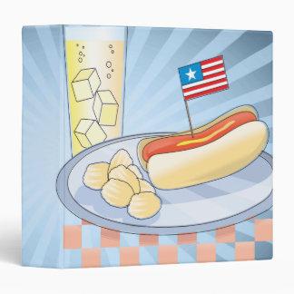 """cuaderno de la comida campestre del Día de la Carpeta 1 1/2"""""""